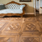 PULCHRIA-Italian made floors and walls, internal and external wood and rock marble coverings-teak